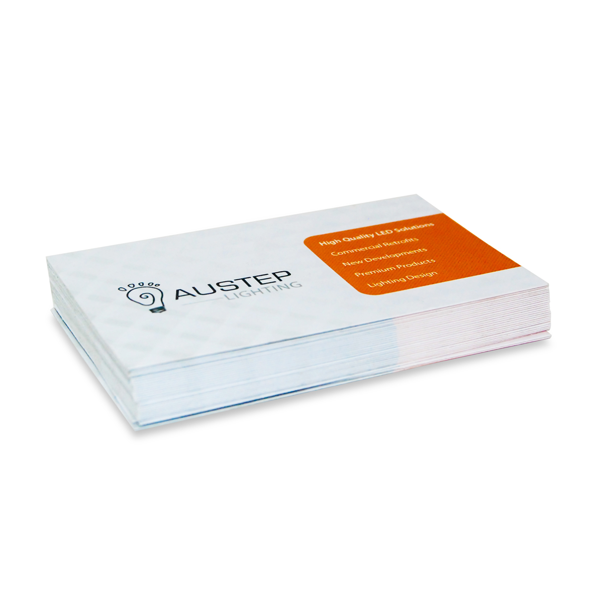 BUSINESS CARD AND STICKER PRINTING Austep Music